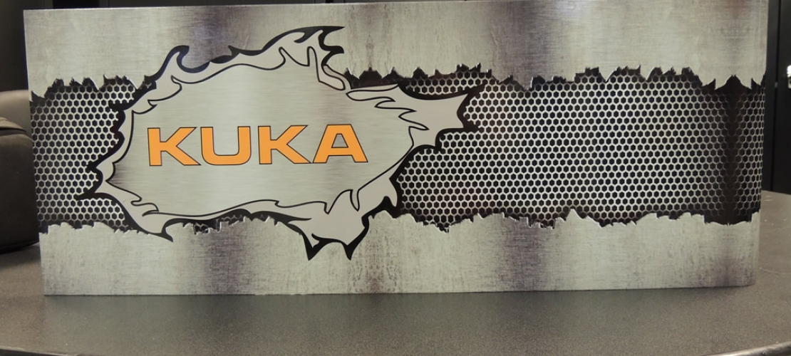 Graphic Covered Weld Covers