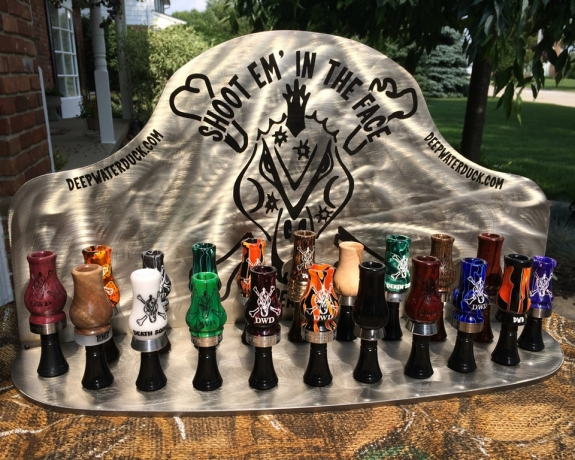Acrylic Duck Call Switch Display