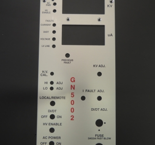 Paint System Faceplate